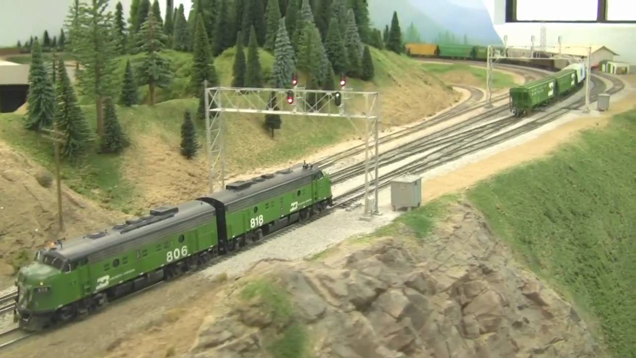 Ho scale layouts youtube