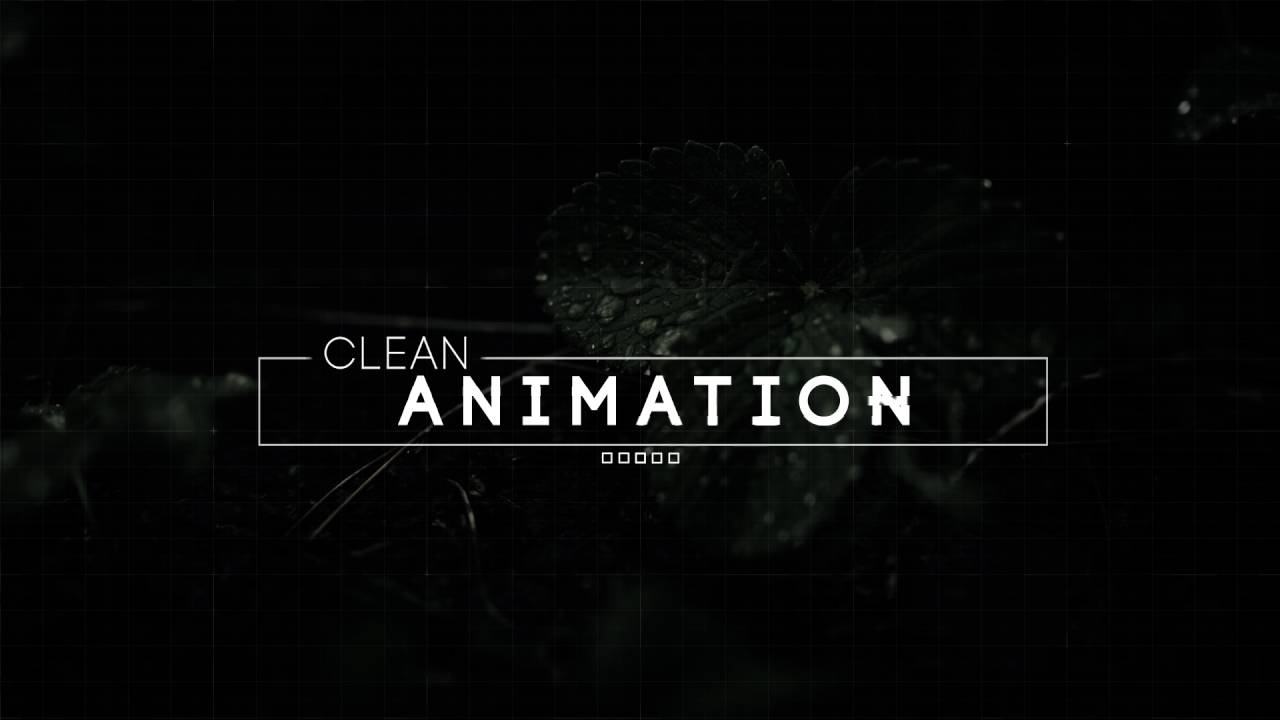 Modern Glitch Les After Effects Template Text