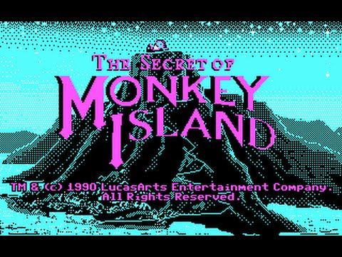 Secret of Monkey Island ● CGA/EGA/VGA Comparison