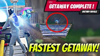 Fortnite Fastest Getaway Ever!