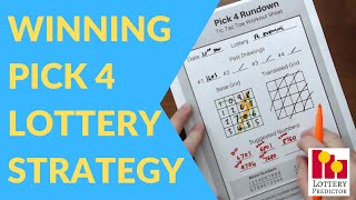 Pick 4 How To Win Lottery Strategy For 2019 - 5 Hits In One Week!