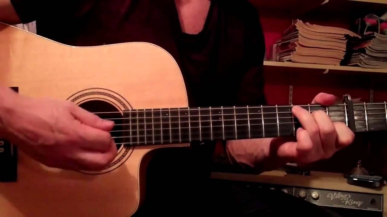 CAROLINA guitar lesson--Parmalee