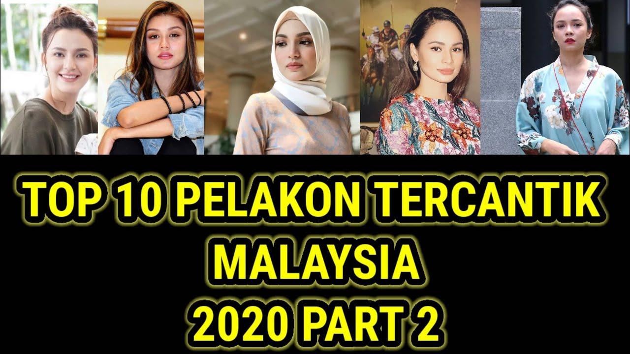 Download TOP 10 PELAKON TERCANTIK MALAYSIA 2020 PART 2