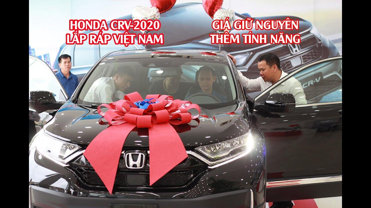 Giới thiệu Honda CR-V 2020 lắp ráp Việt Nam - Giá không thay đổi có nên mua ?