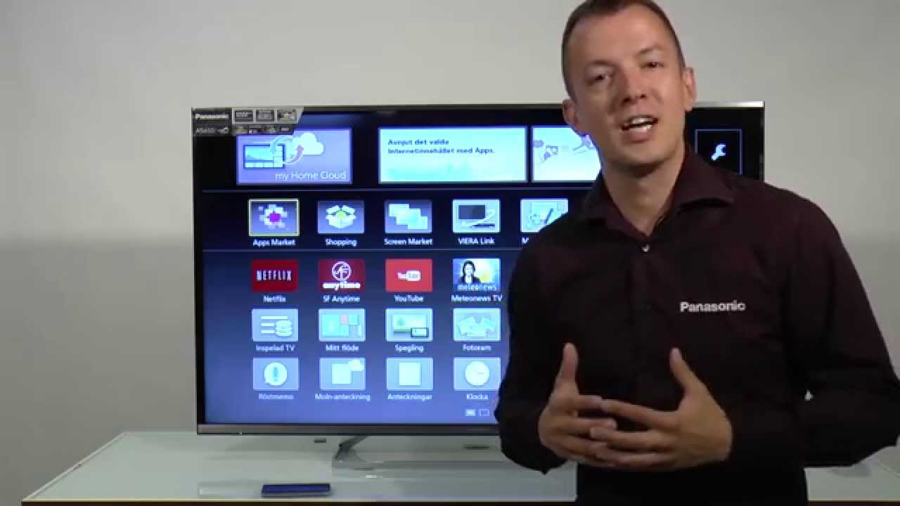 how to record live tv on panasonic viera