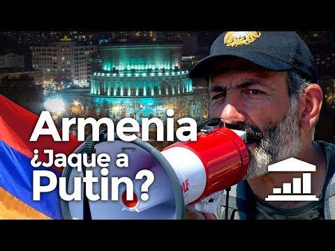 ARMENIA, la última REVOLUCIÓN del CÁUCASO - VisualPolitik
