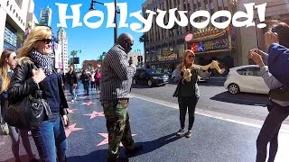 California Travel: Tour of Hollywood Boulevard & the Walk of Fame