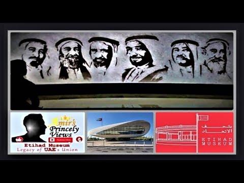 Etihad Museum | Legacy of UAE's Union | Signing of the Constitution | متحف الاتحاد دبي