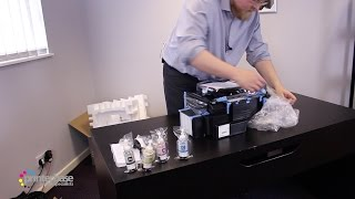 Epson EcoTank L555 All-In-One Inkjet Printer Unboxing