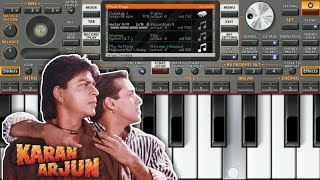 Yeh Bandhan Toh | Karan Arjun | Mobile Instrumental Music On ORG 2020 | Piano Star