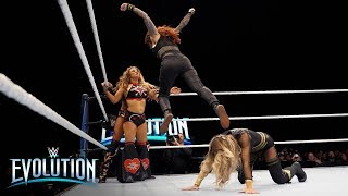 Tensions explode between Trish Stratus and Mickie James at historic pay-per-view: WWE Evolution 2018