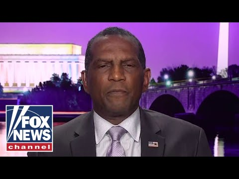 Burgess Owens reacts to 'despicable' racist cartoon comparing him to KKK