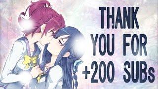 Download Video Yuri Kiss AMV  ❤️ 「+200 sub special」 MP3 3GP MP4