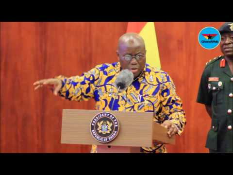 We need evidence to prosecute 'corrupt' officials – Nana Addo
