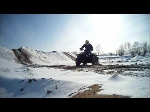 17.02.2013 Покатушки на квадроцикле ADLY ATV 600