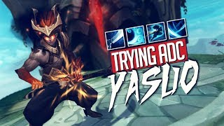 Doublelift - DUO WITH MIKE YEUNG (Trying out ADC Yasuo)