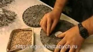 видео изготовление значков из металла