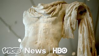Polychromy in ancient statues and the whiteness of marble without p...