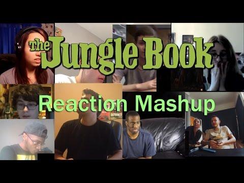 The Jungle Book Official Teaser Trailer #1 REACTION MASHUP!!!