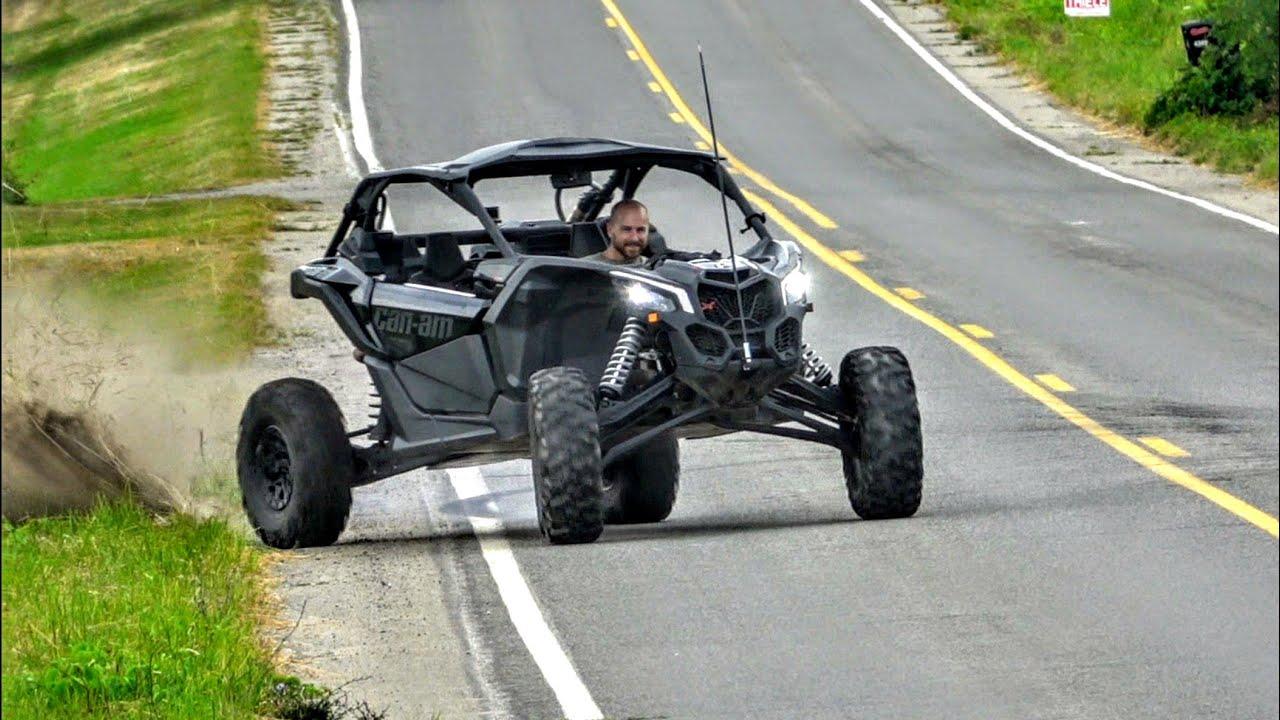 How Fast Is An E85 Can Am Maverick X3 Turbo Youtube