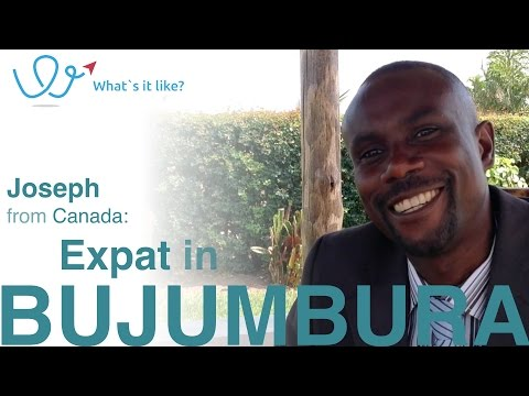 Living in Bujumbura - Expat Interview with Joseph (Canada) about his life in Bujumbura, Burundi