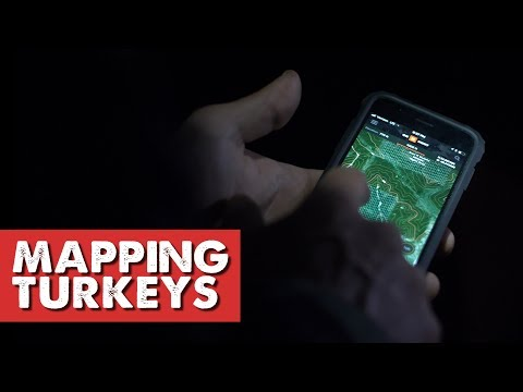 FIND TURKEYS ON PUBLIC LAND! - Map Scouting