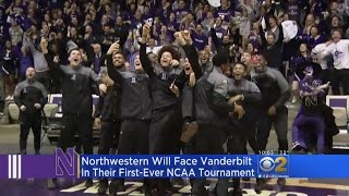Northwestern Wildcats Celebrate First Trip To Big Dance