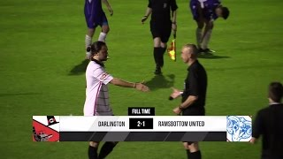 Darlington 2-1 Ramsbottom United - Evo-Stik Premier Division - 2015/16