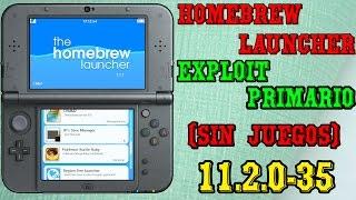 Tutorial Homebrew Launcher 11.2.0-35 SoundHax Exploit Primario (Sin Juegos)