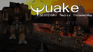 Quake MOD: Necro's Unnamed Map - Quake Single Player (Normal Skill) (NO DEATH RUN) (FULL GAMEPLAY)