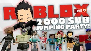 ROBLOX Live Stream | 2K Sub party playing random ROBLOX games with subs