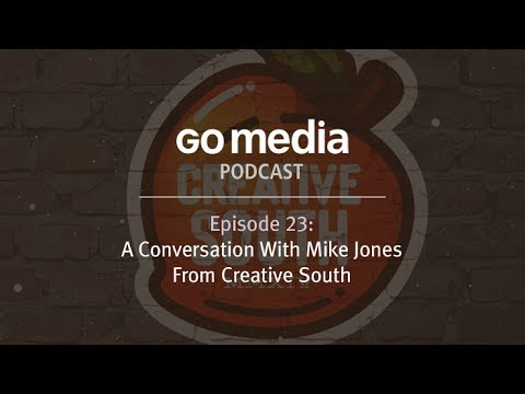 A Conversation with Mike Jones from CreativeSouth.com
