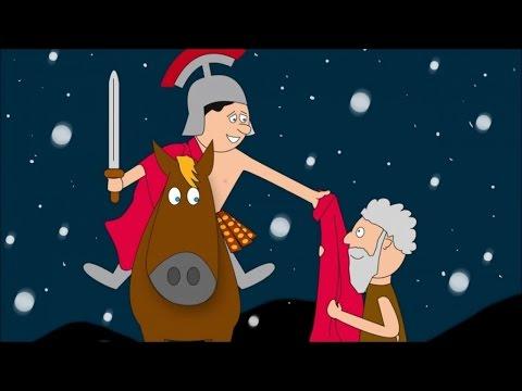 Sankt Martin ritt durch Schnee und Wind - Kinderlieder deutsch