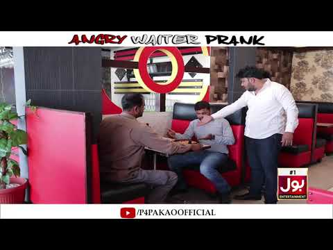  Angry Waiter Prank   By Nadir Ali & Ahmed  In   P4 Pakao   2019