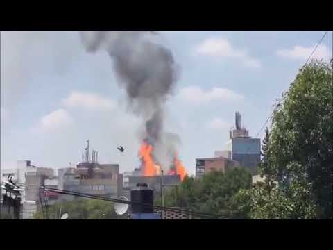 Devastating 7.1 Earthquake in Mexico City Live Footage Compilation