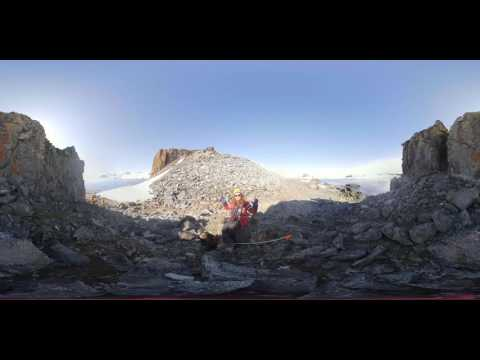 Plant Scientist Sandra Nogué Busch on plant pollen dispersal in Antarctica (360° VR)
