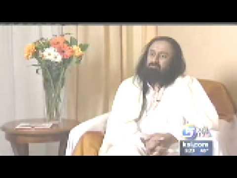 Sri Sri Ravi Shankar on KSL TV (NBC, Salt Lake City, Utah)
