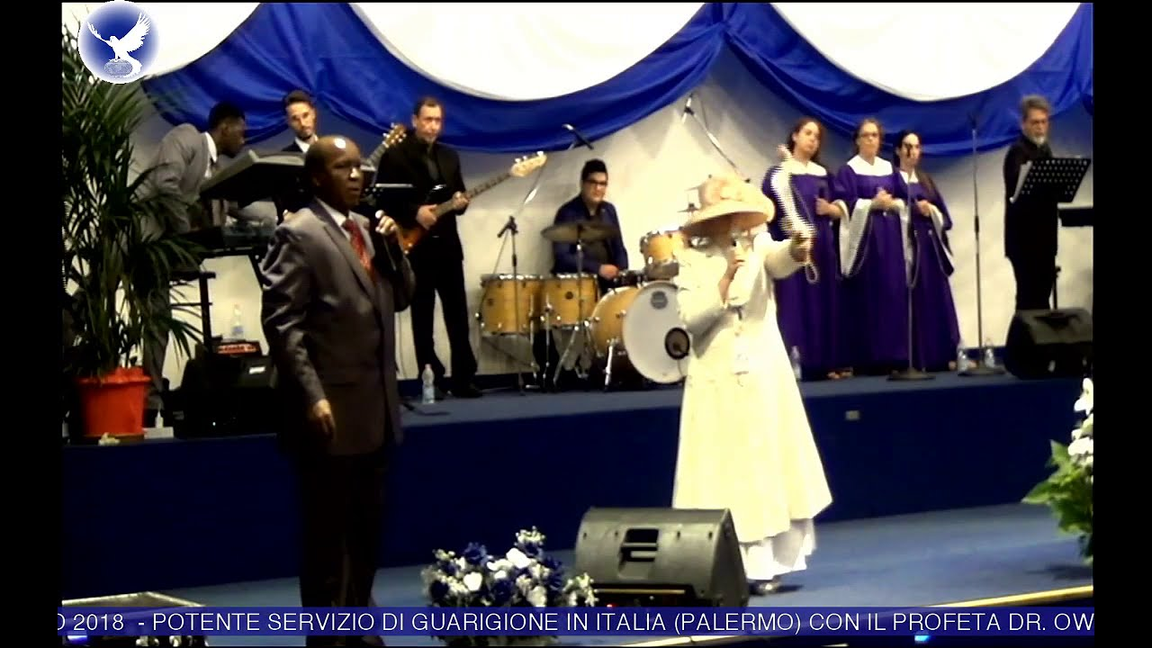 MEGA ENDTIME REVIVAL ITALY HEALING SERVICE WITH THE TWO WITNESSES OF