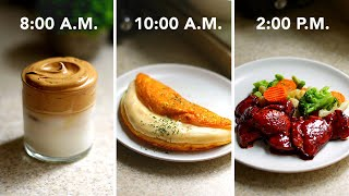 I Made Only 3-Ingredient Recipes For A Day • Tasty