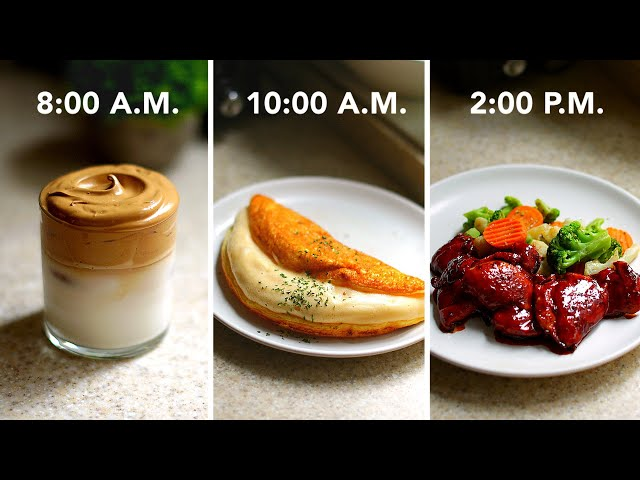 I Made Only 3-Ingredient Recipes For A Day •Tasty