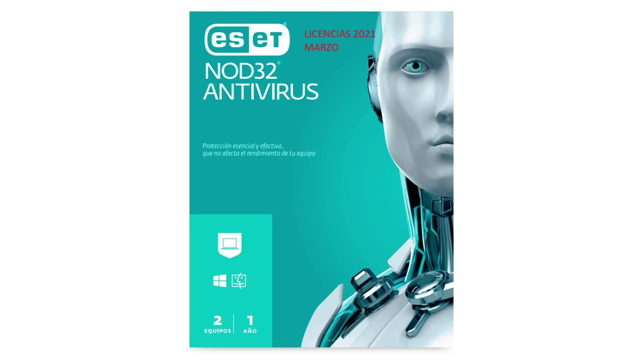 Licencias Eset Nod32 Trial Hasta Marzo Abril 2021 Youtube