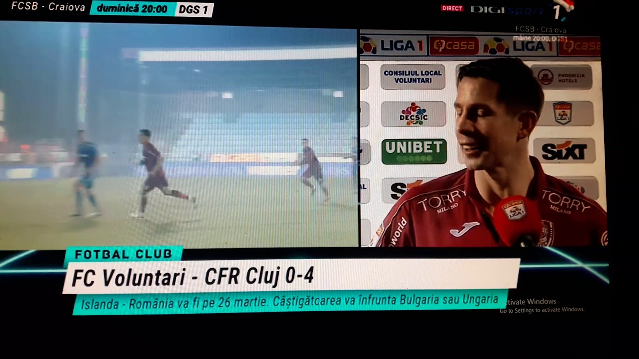 Voluntari - CFR Cluj 0-2 Culio inscrie din penalti! - YouTube