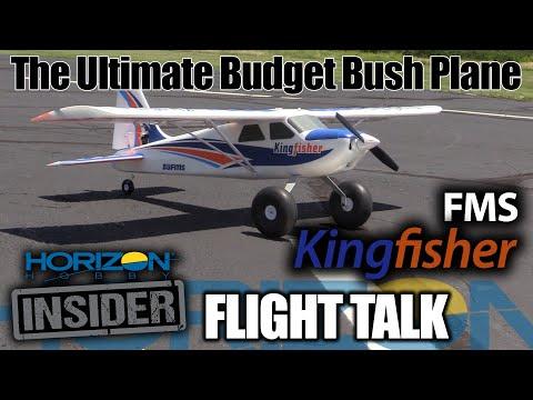 FMS Kingfisher - The Ultimate Budget Bush Plane - Horizon Insider Flight Talk