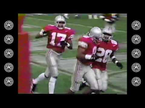 David Boston's Punt Return TD (w/ Only Seven Blockers) - Pitt 1996