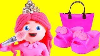 WHAT A GIRL CAN BUY AT AMAZON ❤ SUPERHERO PLAY DOH CARTOONS FOR KIDS