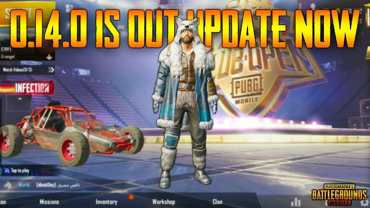 PUBG Mobile 0.14.0 UPDATE is OUT !!! | Free REWARDS Collect Now - New PIRATE Theme | UPDATE NOW !!!
