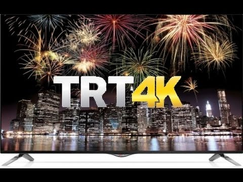 TRT 4K Test Yayını LG UB Serisi TV'lerde Nasıl İzlenir ?