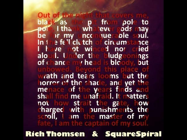 Rich Thomsen & SquareSpiral - Invictus (Lyric Video)
