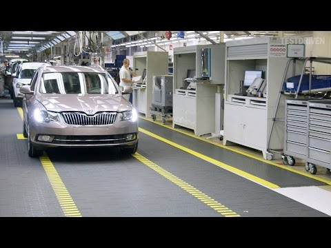 Skoda Superb Production, Kvasiny 2014