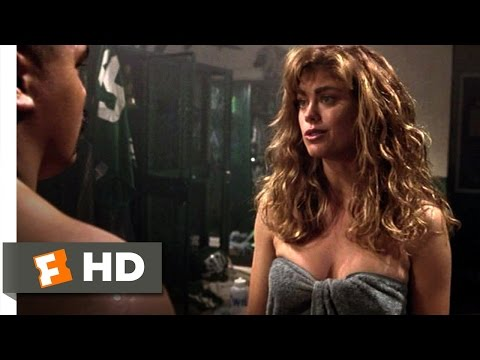 Necessary Roughness (7/10) Movie CLIP - Lucy Gets the Shower (1991) HD